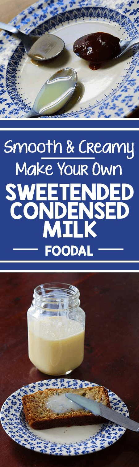 Smooth, creamy, and utterly sublime - sweetened condensed milk is a treat savored round the world. Whether mixed into iced coffee or hot tea, slathered on toast, or folded into semifreddo, the deep, sweet flavor shines through. Learn how to make your own with just two simple ingredients, and a little bit of time. https://foodal.com/recipes/desserts/sweetened-condensed-milk/