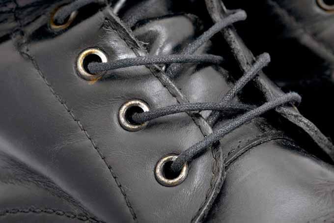 Black Shoe Closeup | Foodal.com