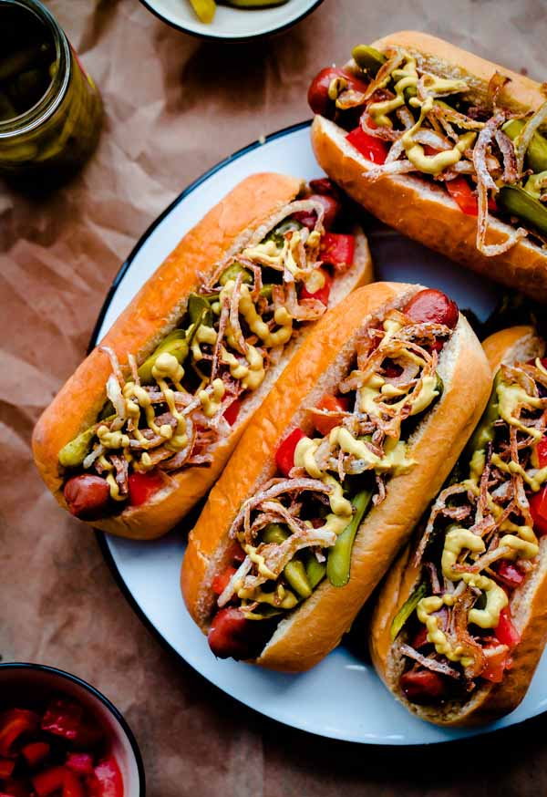 What's your favorite way to serve a hot dog? If you're into wild and crazy topics, you'll definitely want to check out our recipe round-up on Foodal: https://foodal.com/recipes/barbeque/crazy-hot-dogs/