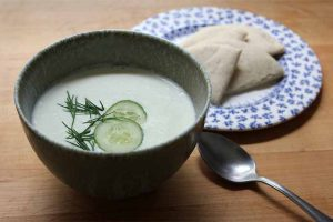 Stay Cool with This Chilled Cucumber Soup
