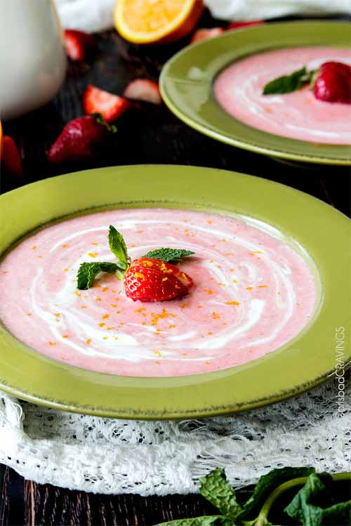 Whether your favorite features, fruit, avocado, root vegetables, or even nuts, there are a variety of amazing chilled soup recipes out there. We've put together this round up of 21 of the top dishes, from our favorite bloggers: https://foodal.com/knowledge/paleo/chilled-soups-roundup/