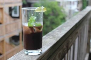 Chocolate, Mint, and… Lime? Trust Us, It Works in this Refreshing Cocktail!