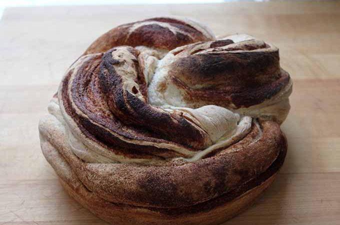 Twisted Cinnamon Cardamom Loaf | Foodal.com