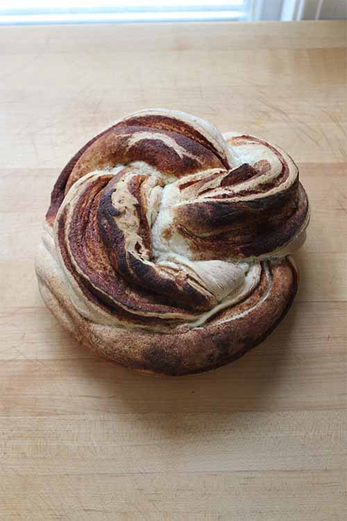 Like the looks of this Twisted Cinnamon & Cardamom Loaf? Learn to make your own at home! Get the recipe on Foodal: https://foodal.com/recipes/breads/twisted-cinnamon-cardamom-loaf/