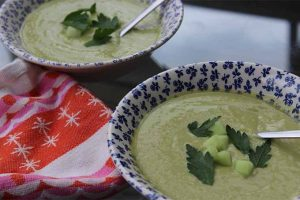 Creamy Chilled Avocado Coconut Soup to Beat the Heat