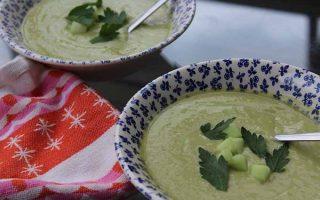 Creamy Chilled Coconut Avocado Soup | Foodal.com