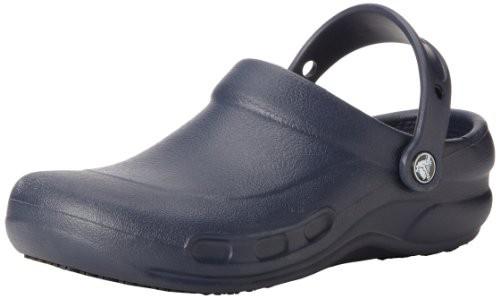 crocs Unisex Bistro Clog in Navy | Foodal.com