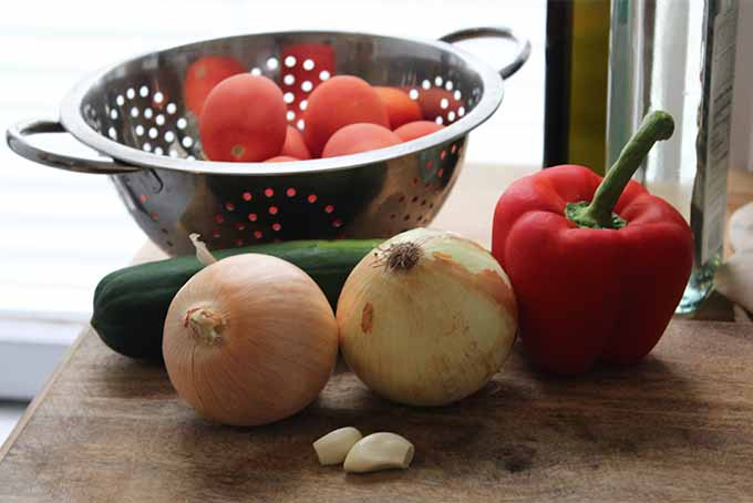 Gazpacho Ingredients | Foodal.com