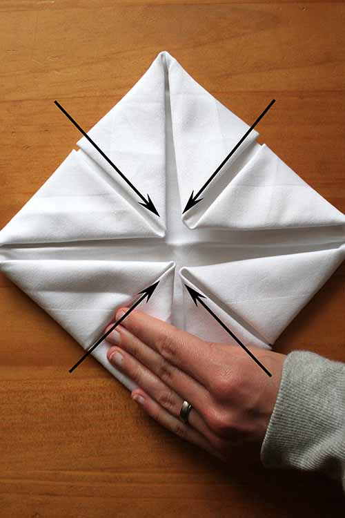 Learn the fine art of napkin folding foodal napkin folding is a lost art but it doesnt have to be mightylinksfo