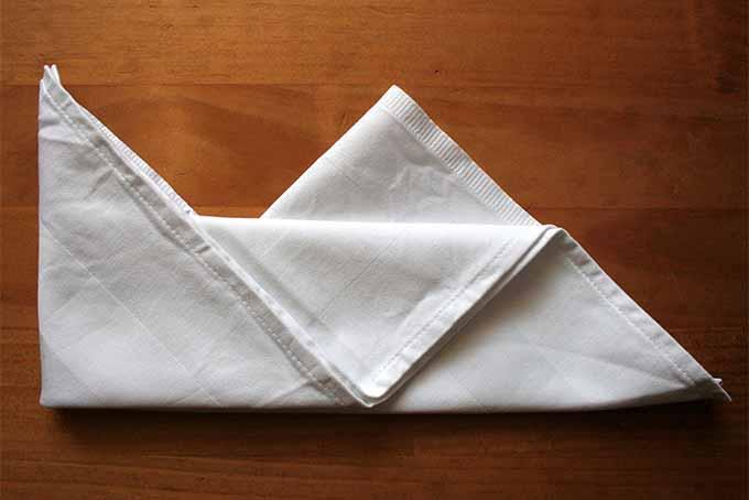 Miter Fold Step 10 | Foodal.com