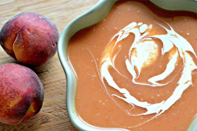 Peach and Apricot Soup | Foodal.com