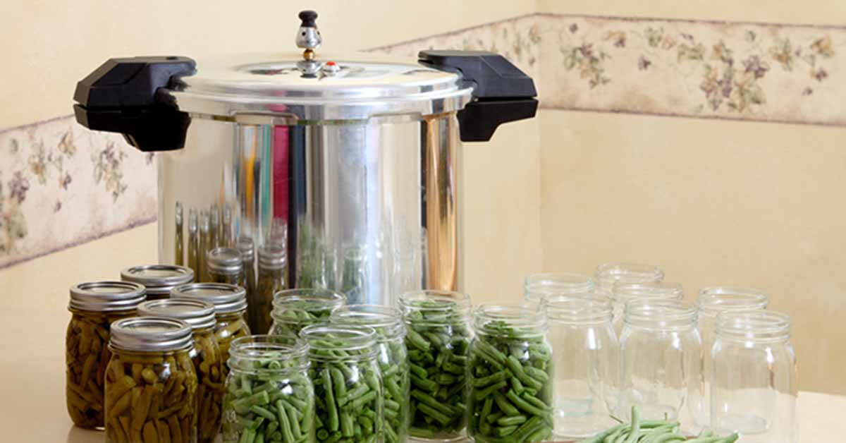 Pressure Canner with Beans | Foodal.com