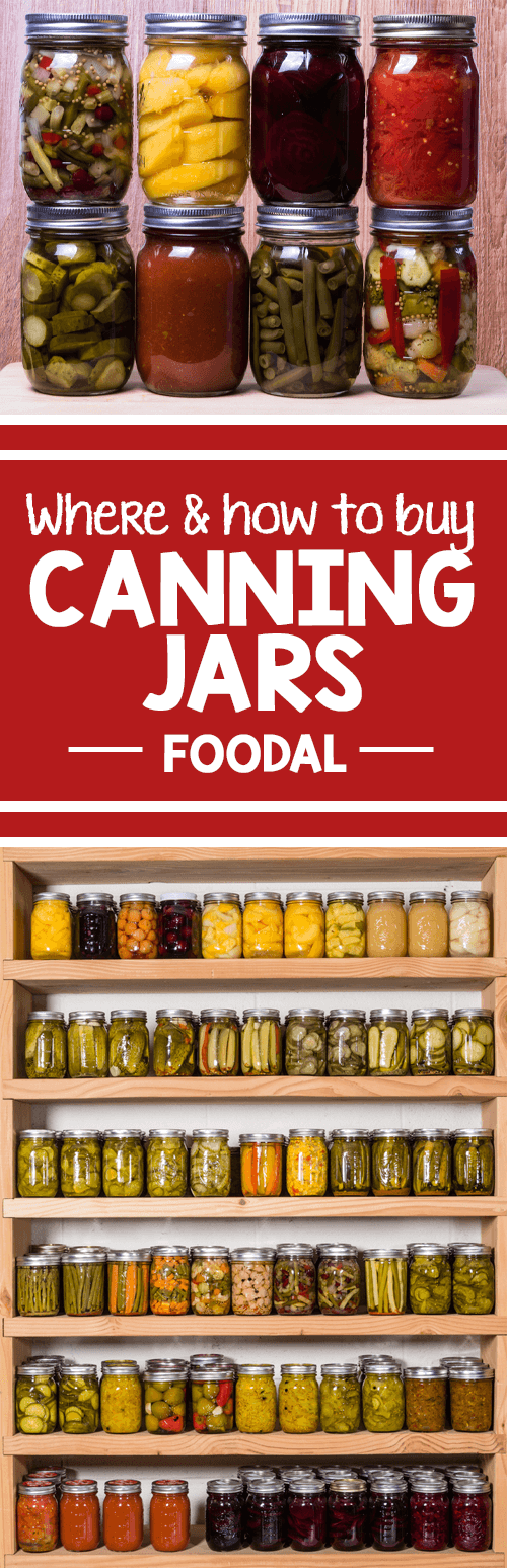 Jars are a gold to a home food preservationist and whether you pick them up new or used, you can never have enough. Find out the tips and techniques in find them for the best price, the quantity that you need to shoot more, and bonus advice on choosing lids. https://foodal.com/knowledge/things-that-preserve/buy-canning-jars-many-sizes/