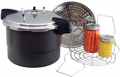 Granite Ware 0730-2 Pressure Canner-Cooker-Steamer,-20-Quart | Foodal.com