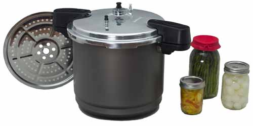 20-Quart Columbian Home Products 0730-2 Granite Ware Pressure Canner//Cooker//Steamer