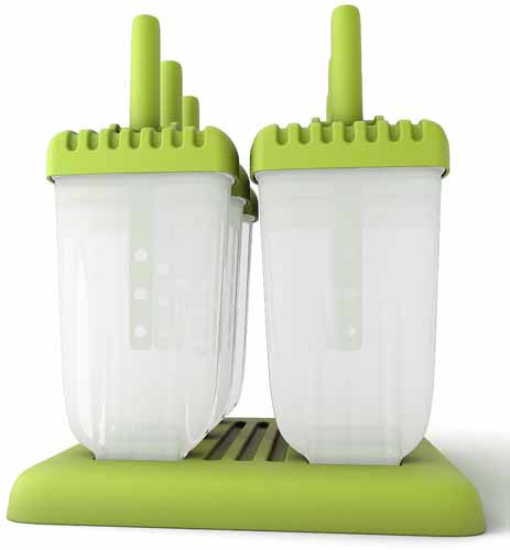 Popsicle Molds Ice Pop Maker Tupperware Quality 6 Pieces BPA Free | Foodal.com