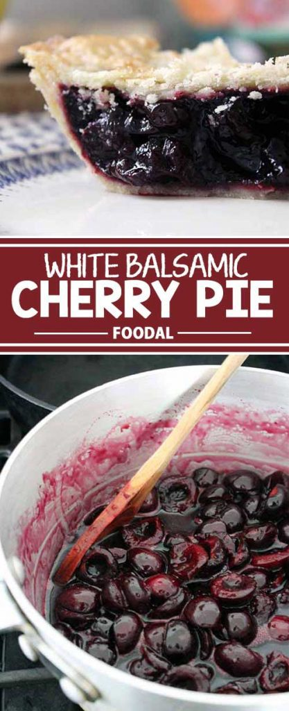 There's no better way to use an abundance of just-harvested tart cherries than in a tasty pie. Our version uses white balsamic vinegar for acid and arrowroot powder to thicken. Because the filling is cooked first on the stove, it bakes quickly on those warm days when you want to limit your oven use! Read on to learn more and get the recipe now.