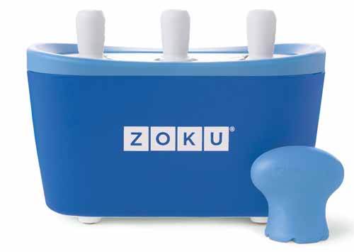 Zoku Quick Pop Maker, Blue | Foodal.com