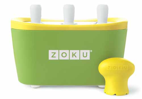 Zoku Quick Pop Maker, Green | Foodal.com