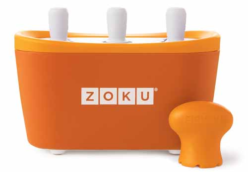 Zoku Quick Pop Maker, Orange | Foodal.com