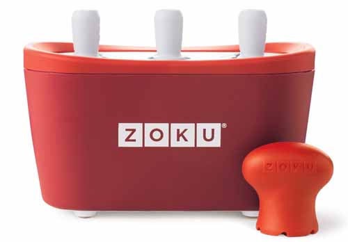 Zoku Quick Pop Maker, Red | Foodal.com