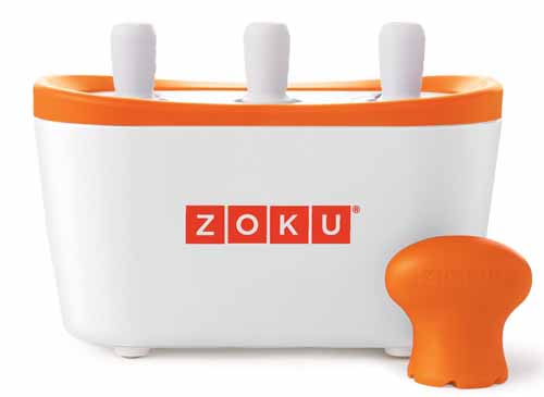 Zoku Quick Pop Maker, White | Foodal.com