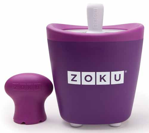Zoku Single Quick Pop Maker, Purple | Foodal.com