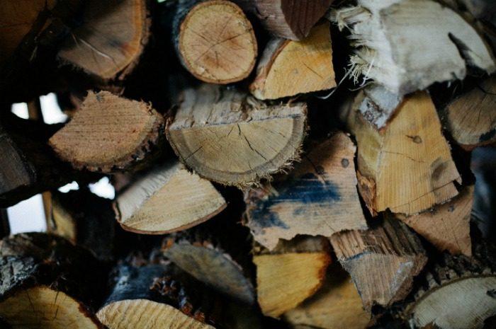 logs at grove park inn / asheville getaway post