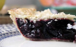White Balsamic Cherry Pie