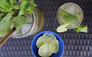 Old School Mojito with an Icy Twist