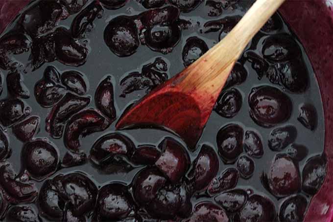 Stirring Cherry Pie Filling | Foodal.com