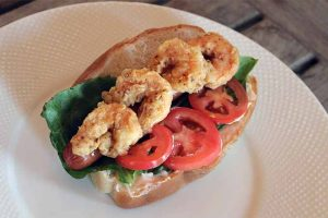 Surf and Turf: The Best Po' Boy Style Hot Dog