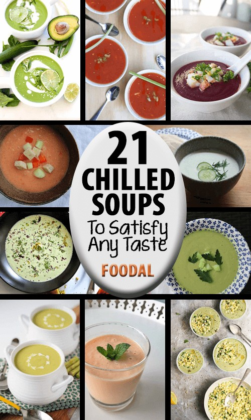 Whether sweet or savory, made with fruit, vegetables, fresh herbs, nuts, or legumes, there's a chilled soup recipe out there to satisfy every taste. https://foodal.com/knowledge/paleo/chilled-soups-roundup/