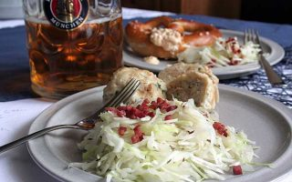 Bavarian Cabbage Salad with Bacon