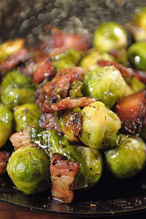 Have the cravings for some bacon but feel guilty about eating a few slices? Well not now, you can have your bacon and eat it too with this wonderfully nutritious recipe. Get it here: https://foodal.com/recipes/veggies/organic-brussels-sprouts-sauteed-with-bacon/