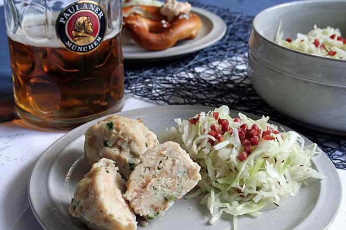 Classic Southern German Bread Dumplings