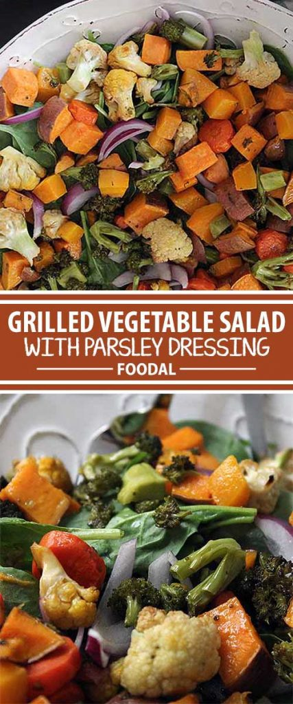 If you love grilled or roasted vegetables but you're also in the mood for salad, then this is the dish for you. It includes grilled vegetables and fresh spinach with a very special dressing that sets off the mix of flavors perfectly, and it's truly a meal in itself. Read more and get the recipe now on Foodal.