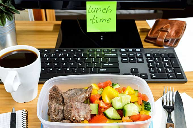 5 Healthy Lunches to Take to Work