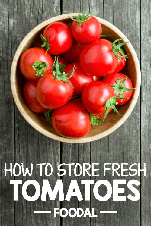Not sure how to store fresh tomatoes from your garden or the market? Read our guide on Foodal now to learn the right way to stock those juicy gems! We go over the different ways to properly store them and provide an easy prep technique to ensure that your tomatoes stay as fresh as possible. Read more now! https://foodal.com/knowledge/how-to/store-fresh-tomatoes/
