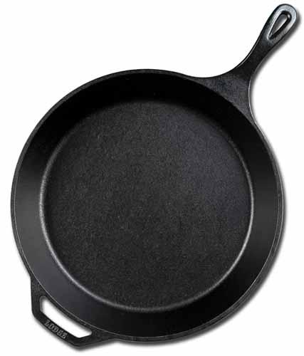 Lodge 13.25 Inch Cast Iron Skillet | Foodal.com