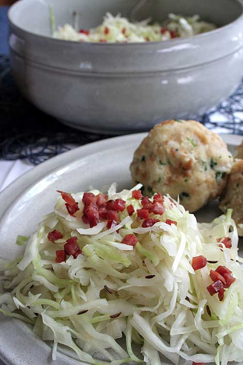 Looking for a twist to your ordinary fare? If so, check out this Bavarian Cabbage recipe! https://foodal.com/recipes/german-recipes/cabbage-salad-bacon/