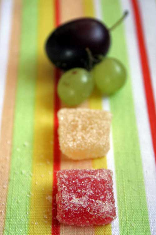 Homemade Real Fruit Jelly Squares