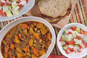 Authentic Moroccan Lamb, Veggie, and Lentil Stew