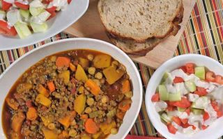 Authentic Moroccan Lamb, Veggie, and Lentil Stew