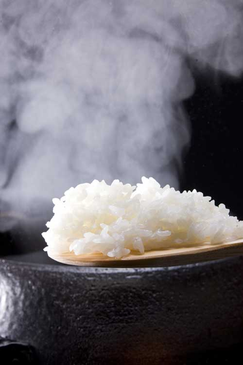 Steamed white rice | Foodal.com