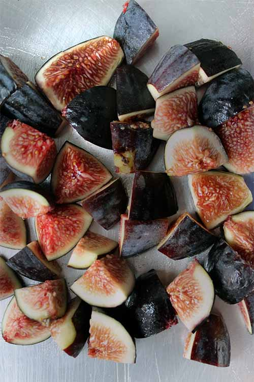 Love the flavor of fresh figs? We honey-roast them and combine them with ripe bananas and creamy tahini in this sweet and savory frozen dessert: https://foodal.com/recipes/desserts/banana-tahini-fig-popsicles/