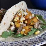 Pork Tacos with Peach Corn Salsa Recipe| Foodal.com