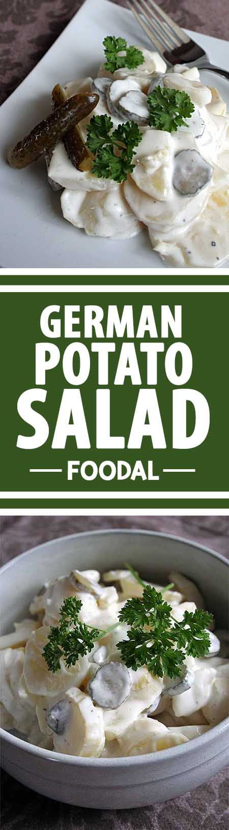 This typical German side dish is a perfect choice for your summer BBQ, family get-together, or Oktoberfest celebration. It goes so well with every kind of sausages, steaks, ribs, or grilled vegetables. https://foodal.com/recipes/sides/german-potato-salad/