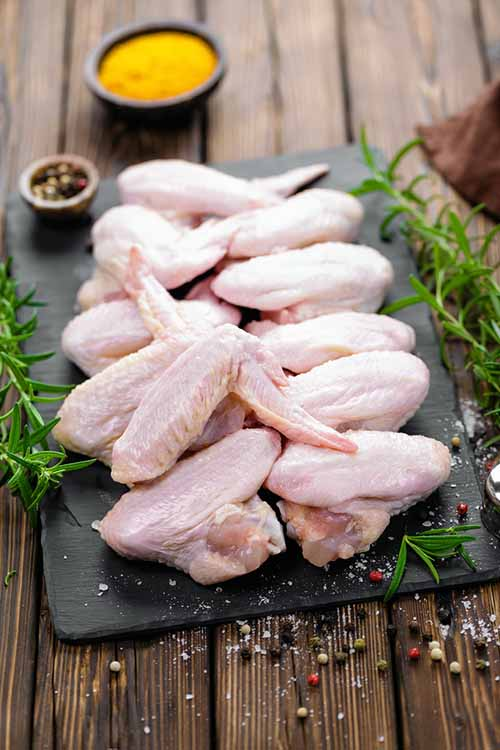 So your hands slipped while moving your raw chicken about the kitchen....what do do? Don't worry, we've got some quick and easy solutions on how to handle this slippery situation right here: https://foodal.com/knowledge/how-to/dropped-raw-chicken/