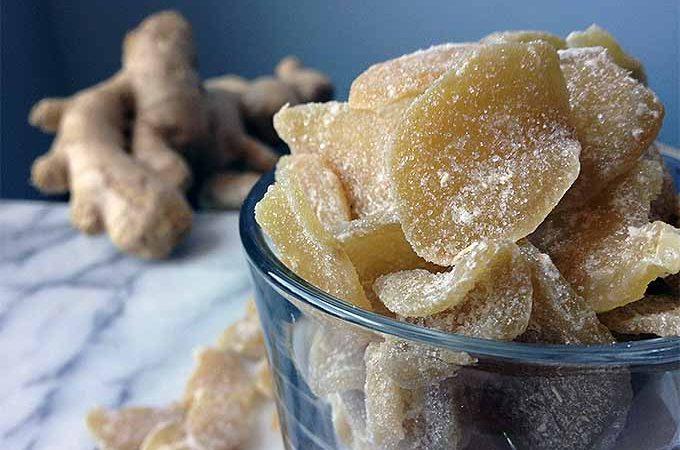 Crystallized Ginger Recipe | Foodal.com